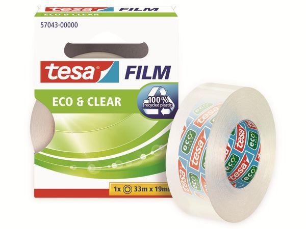 tesafilm® eco&clear, 1 Rolle, 33m:19mm, 57043-00000-01 - Produktbild 4