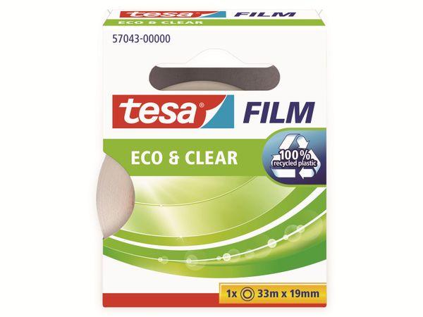 tesafilm® eco&clear, 1 Rolle, 33m:19mm, 57043-00000-01 - Produktbild 5