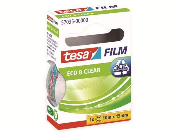 tesafilm® eco&clear, 1 Rolle, 10m:15mm, 57035-00000-01 - Produktbild 6