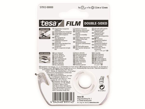 tesafilm® doppelseitig, 1 Rolle + Abroller, 7,5m:12mm, 57912-00000-02 - Produktbild 6