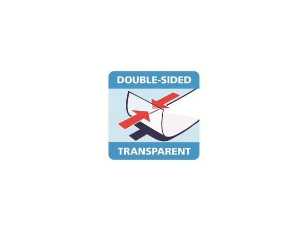 tesafilm® doppelseitig, 1 Rolle + Abroller, 7,5m:12mm, 57912-00000-02 - Produktbild 7