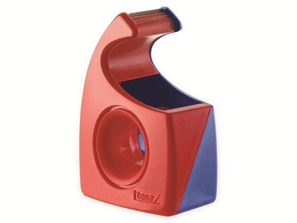 tesa® Easy Cut Handabroller 10:19 rot-blau, leer, bis 10m:19mm, 57443-00001-01