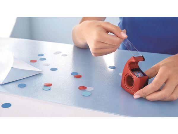 tesa® Easy Cut Handabroller 10:19 rot-blau, leer, bis 10m:19mm, 57443-00001-01 - Produktbild 5