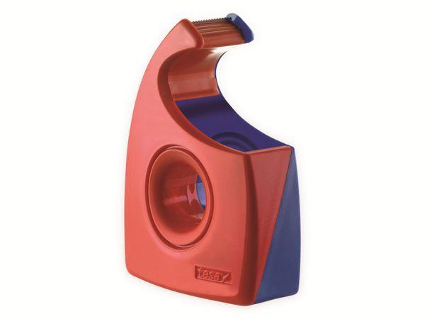 tesa® Easy Cut Handabroller 33:19 rot-blau, leer, bis 33m:19mm, 57444-00001-01
