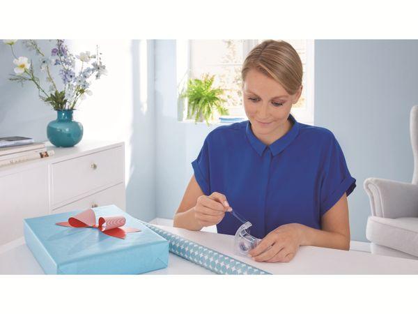 tesa® Easy Cut Handabroller 33:19 rot-blau, leer, bis 33m:19mm, 57444-00001-01 - Produktbild 6