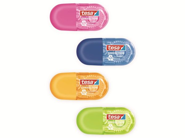 tesa Roller Korrigieren ecoLogo® Mini in 4 Farben, 6m:5mm, 59816-00000-00 - Produktbild 10