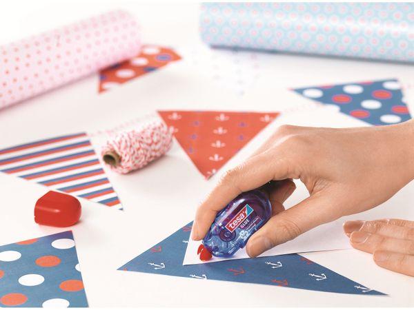 tesa® Mini Klebe-Roller permanent ecoLogo®, 6m:5mm, 59819-00000-00 - Produktbild 5