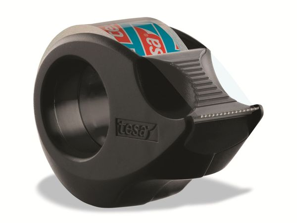 tesafilm® Mini Abroller in 4 Farben + tesafilm® kristall-klar, 10m:19mm, 58230-00000-02