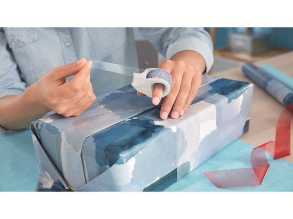 tesafilm® Mini Abroller in 4 Farben + tesafilm® kristall-klar, 10m:19mm, 58230-00000-02 - Produktbild 2