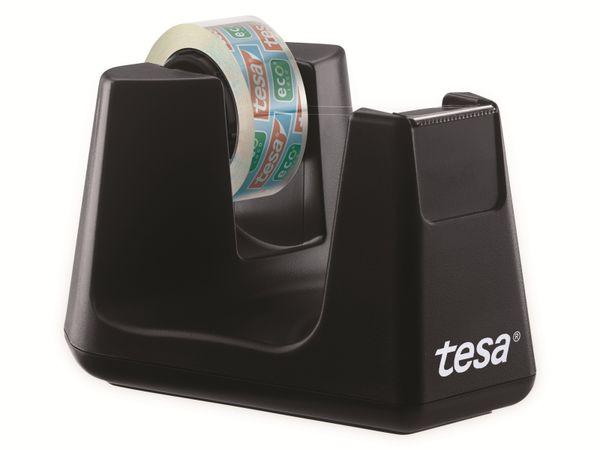 tesafilm® Tischabroller Smart + tesafilm® eco&clear, 1 Rolle , 10m:15mm, 53904-00000-01