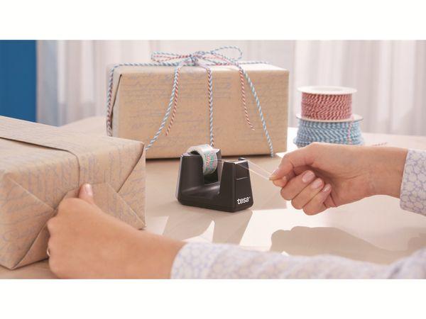 tesafilm® Tischabroller Smart + tesafilm® eco&clear, 1 Rolle , 10m:15mm, 53904-00000-01 - Produktbild 3
