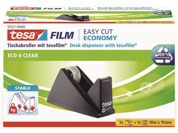 tesafilm® Sparpack Abroller + tesafilm® eco&clear, 1 Rolle , 10m:15mm, 59327-00000-02 - Produktbild 3