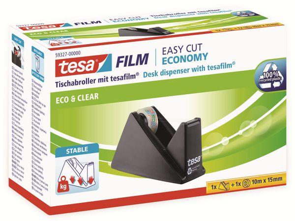 tesafilm® Sparpack Abroller + tesafilm® eco&clear, 1 Rolle , 10m:15mm, 59327-00000-02 - Produktbild 4