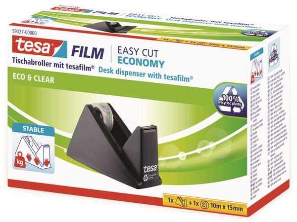 tesafilm® Sparpack Abroller + tesafilm® eco&clear, 1 Rolle , 10m:15mm, 59327-00000-02 - Produktbild 5