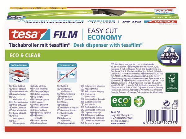 tesafilm® Sparpack Abroller + tesafilm® eco&clear, 1 Rolle , 10m:15mm, 59327-00000-02 - Produktbild 8