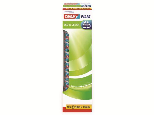 tesafilm® eco&clear, 10 Rollen, Office Box, 10m:15mm, 57070-00000-01 - Produktbild 5