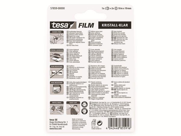 tesafilm® kristall-klar, 2 Rollen + Mini Abroller, 10m:19mm, 57859-00000-13 - Produktbild 5
