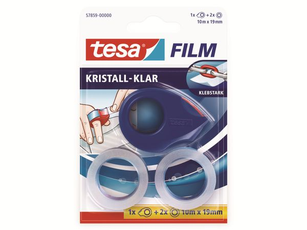 tesafilm® kristall-klar, 2 Rollen + Mini Abroller, 10m:19mm, 57859-00000-13 - Produktbild 6