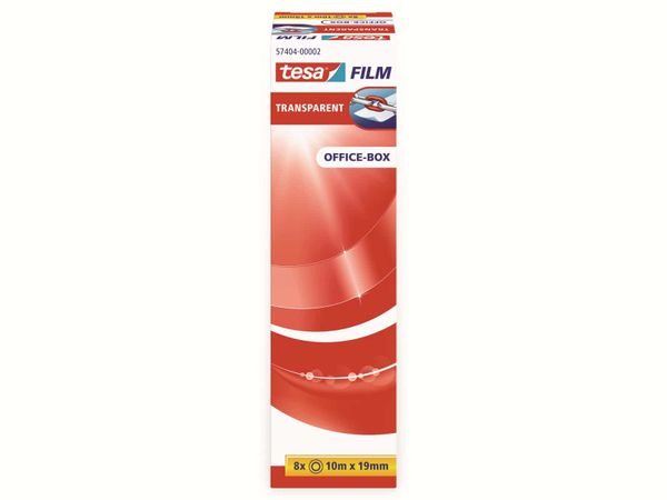 tesafilm® transparent, 8 Rollen, Office-Box, 10m:19mm, 57404-00002-04 - Produktbild 5