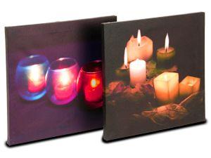 Bild mit LED-Beleuchtung