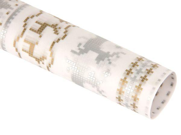 Transparentpapier HEYDA 20-4879495, Rentier silber - Produktbild 1