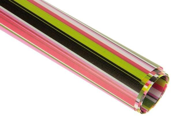Transparentpapier HEYDA 20-4879437, Linus rot/grün - Produktbild 1