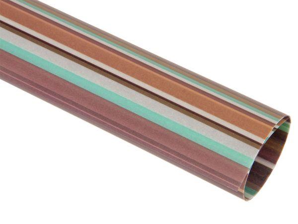 Transparentpapier HEYDA 20-4879434, Linus braun/türkis - Produktbild 1
