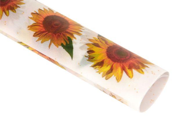 Transparentpapier HEYDA 79327, Sonnenblume