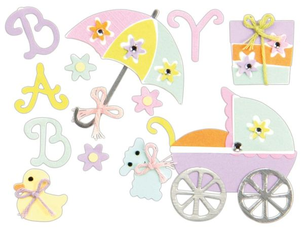 Deko-Sticker HEYDA 203780631, Babysachen