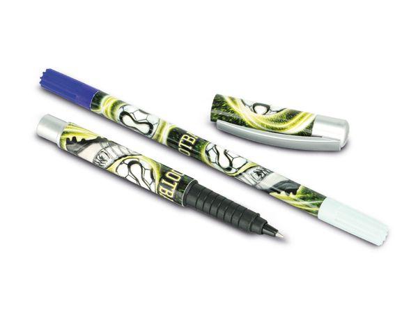 Füller mit Tintenlöscher, 2 Patronen - Produktbild 1