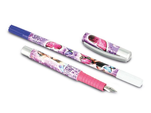 Füller mit Tintenlöscher, 2 Patronen - Produktbild 2