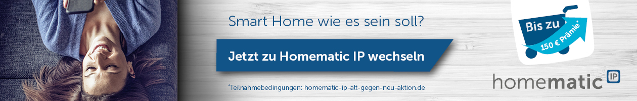 Homematic IP Alt-gegen-Neu-Aktion