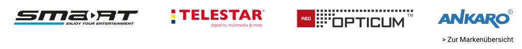 Top-Marken aus dem Bereich SAT-/Antennentechnik
