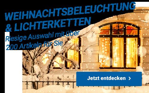Weihnachtsbeleuchtungund Lichterketten - Riesige Auswahl mit über 200 Artikeln für Sie